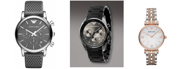 Часы emporio armani steel back stainless steel фото