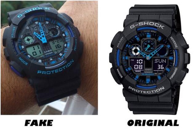 Ru как отличить оригинал от подделки часов casio?